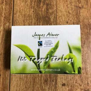 Fairtrade 100 x String and Tag Teabags