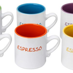 Colours Espresso Mini Mug Set