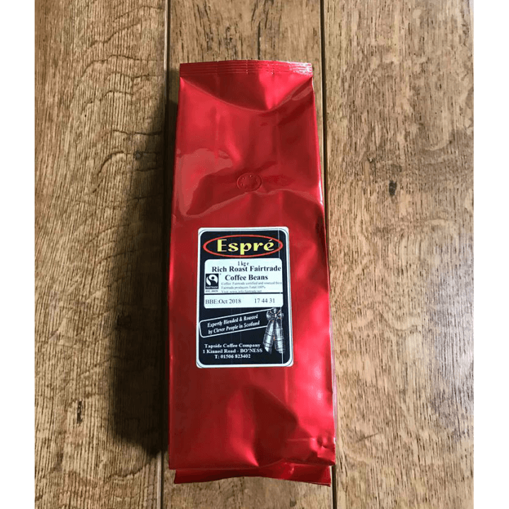 Fairtrade Rich Roast Espre Coffee Beans
