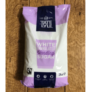 White Vending Sugar