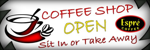 Coffee Lovers Welcome Banner