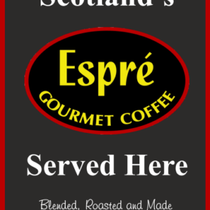 Coffee swing sign design