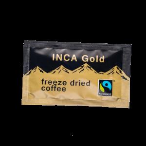 Fairtrade Inca Gold Freeze Dried Coffee Sachets