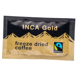 Fairtrade Inca Gold Freeze Dried Coffee Sachets