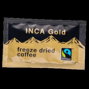 Fairtrade Inca Gold Freeze Dried Coffee Sachets 250 x 1g