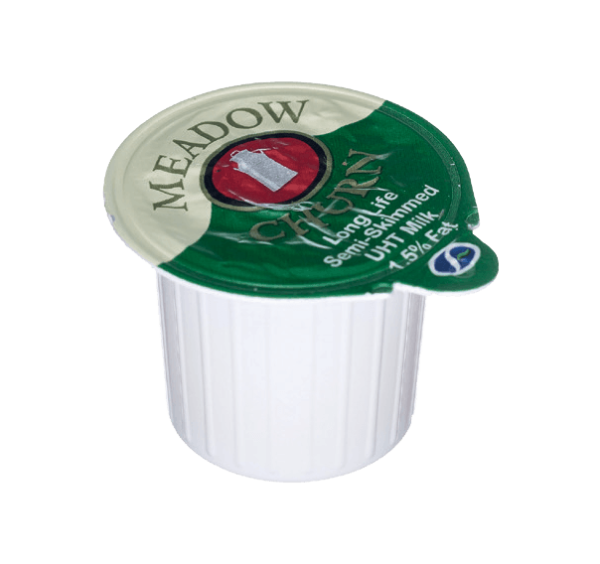 Meadow Churn Semi-Skimmer Milk Pots