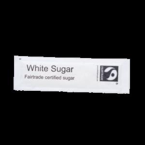 Fairtrade White Sugar Flatsticks 1000 x 2.5g