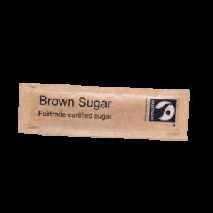 Fairtrade Brown Sugar Flatsticks 1000 x 2.5g