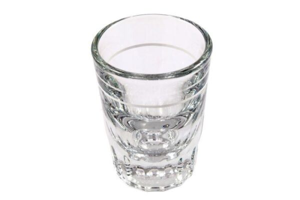 Espresso calibrated shot glass