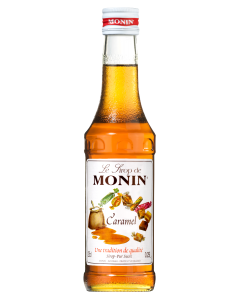 Monin Caramel Syrup 700ml Glass Bottle
