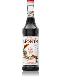 Monin Chai Tea Syrup 700ml Glass Bottle