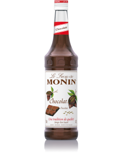 Monin Chocolate Syrup 700ml Glass Bottle