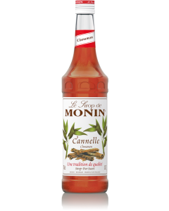 Monin Cinnamon Syrup 700ml Glass Bottle