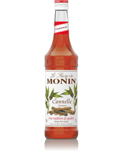 Monin Cinnamon Syrup 700ml Glass Bottle