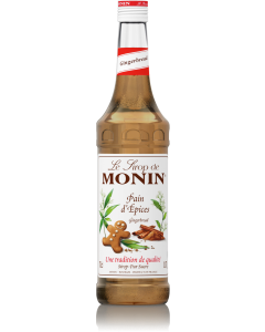 Monin Gingerbread Syrup 700ml Glass Bottle