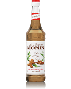 Monin Gingerbread Syrup 700ml Glass Bottle