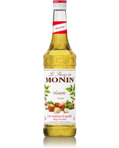 Hazelnut - Monin flavour syrup for Coffee