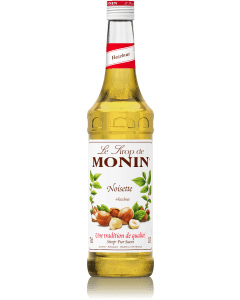 Monin Hazelnut Syrup 700ml Glass Bottle