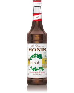 Monin Irish Syrup 700ml Glass Bottle