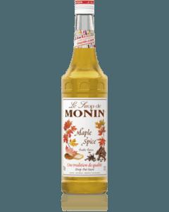 Monin Maple Spice Syrup 700ml Glass Bottle