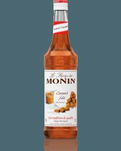 Monin Salted Caramel Syrup 700ml Glass Bottle