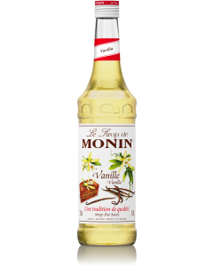 Monin Vanilla Syrup 700ml Glass Bottle