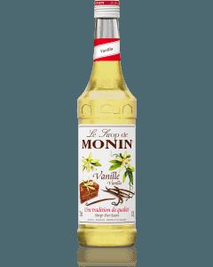 Monin Vanilla Syrup 700ml Glass Bottle