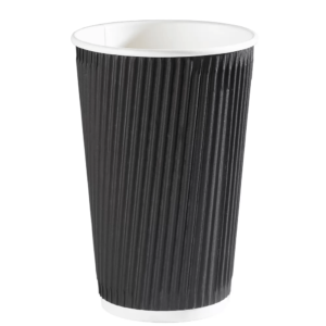 Black Ripple Cup (Box of 500)