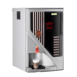 cino instant 5 canister coffee machine with coin acceptor