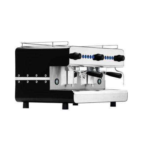 Iberital Black Fully automatic 2 group espresso machine (IB7-2-FA)