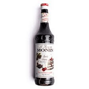 Monin Black Forest Syrup 700ml Glass Bottle