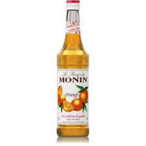 Monin Orange Syrup 700ml Glass Bottle