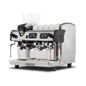 Zircon 2 group Espresso machine with inbuilt grinder