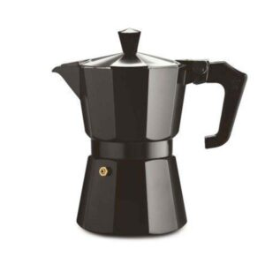 Pezzetti Italexpress Moka Pot 6 Cup Black