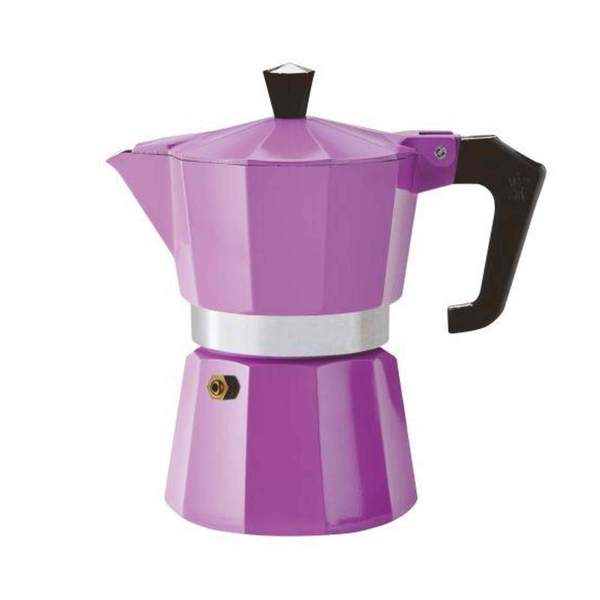 Pezzetti Italexpress Moka Pot 6 Cup Purple