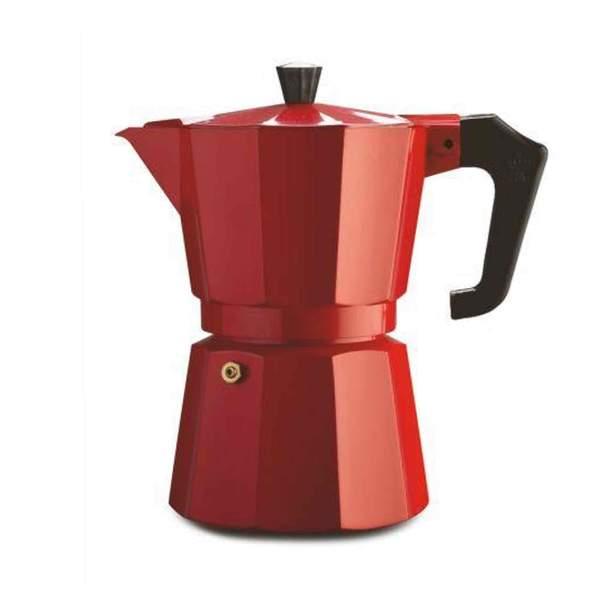 Pezzetti Italexpress Moka Pot 6 Cup Red