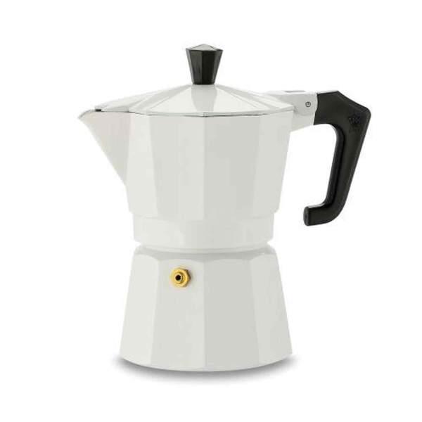 Pezzetti Italexpress Moka Pot 6 Cup White