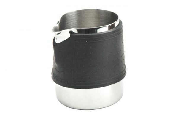 Frothing Jug Handle Free Stainless Steel with Silicone Sleeve 0.3L