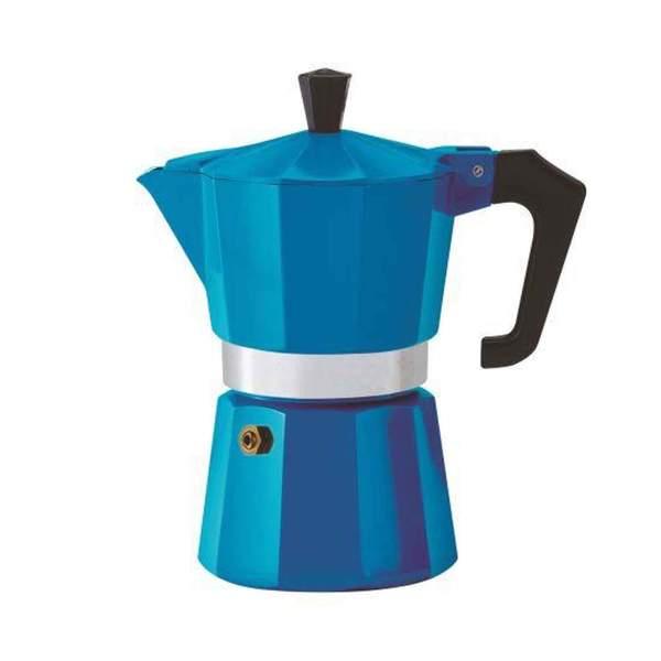 Pezzetti Italexpress Moka Pot Blue 6 Cup