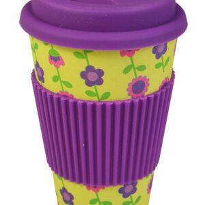 Bamboo Travel Mug Floral