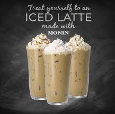 Iced Coffee Made With Monin