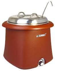 Galena Soup Kettle 10L Brown