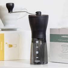 Hario Bloom Ceramic Coffee Mill Mini Slim Plus Grinder