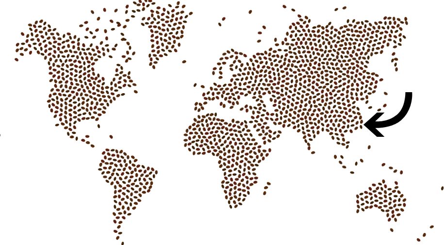 Map of Coffee