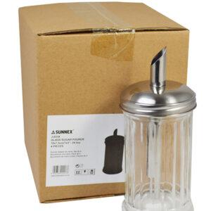 Glass Sugar Pourer Pack of 4
