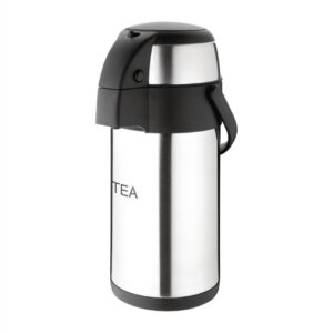Airpot Pump Action etched Tea 3L