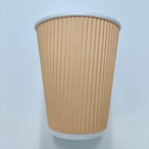 Cream Ripple Cup 12oz